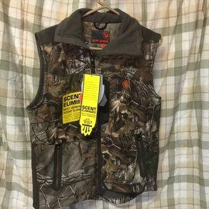 New game winner tea trea  camouflage vest jacket S